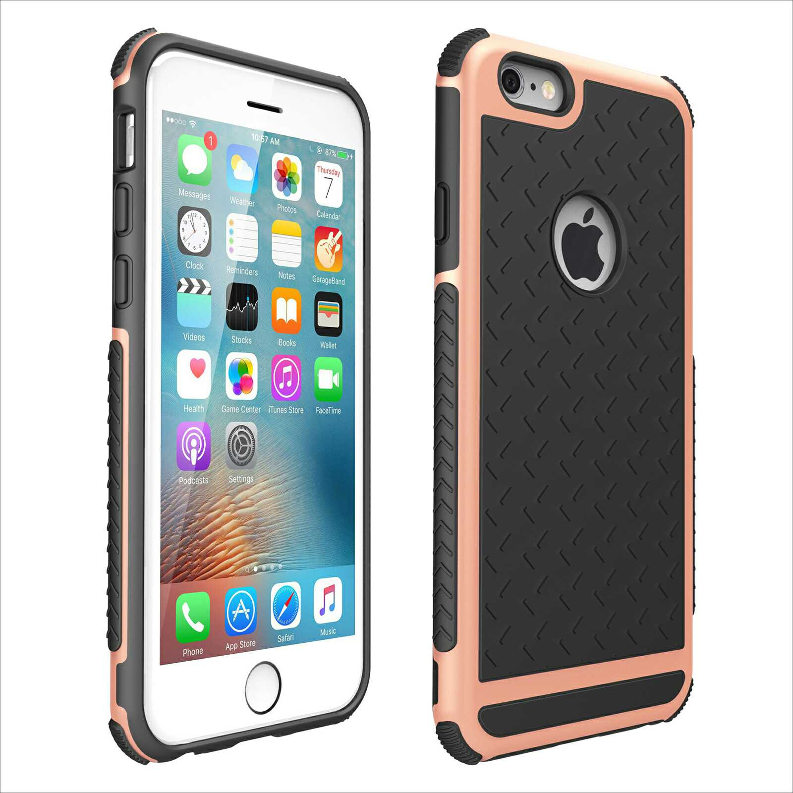 Apple - Iphone 5C : Apple - Iphone 5C-Pink Gold-8241